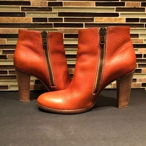 Madewell 1937 Leather Booties Size 7.5